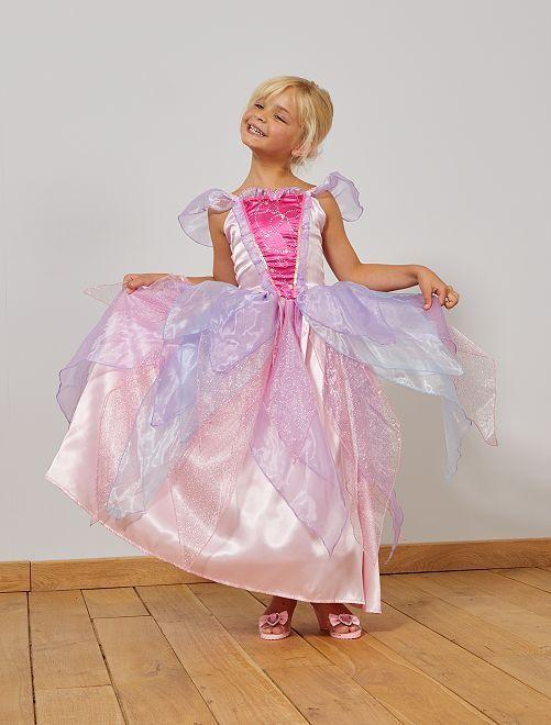 Robe de princesse                             rose/violet