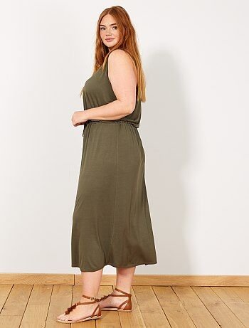 6a03deb83e Soldes robe grande taille femme à petit prix Grande taille femme | Kiabi