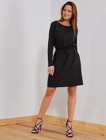 Soldes robe noire   robe habillée, robe bustier, robe droite   mode ... a3911ce04edb