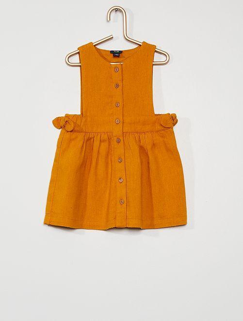 Robe 'éco-conception'                                                                             jaune