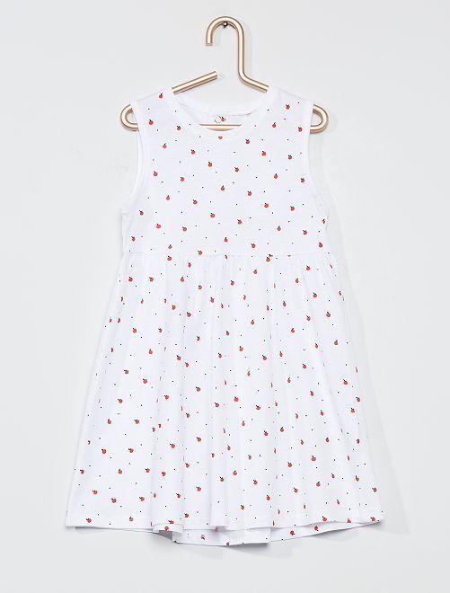 Robe 'éco-conçue'                                                                             blanc/pomme