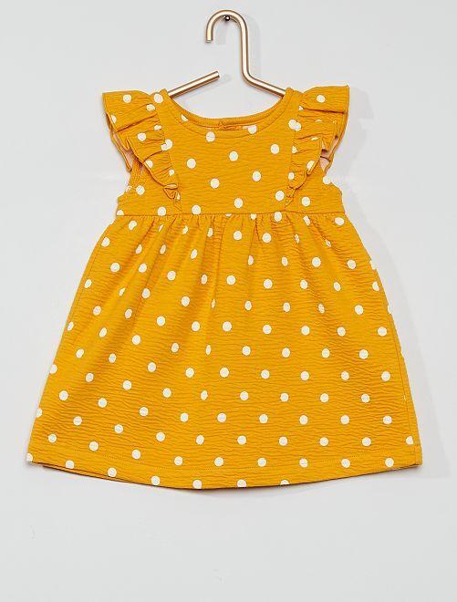 Robe éco-conçue                                                     jaune