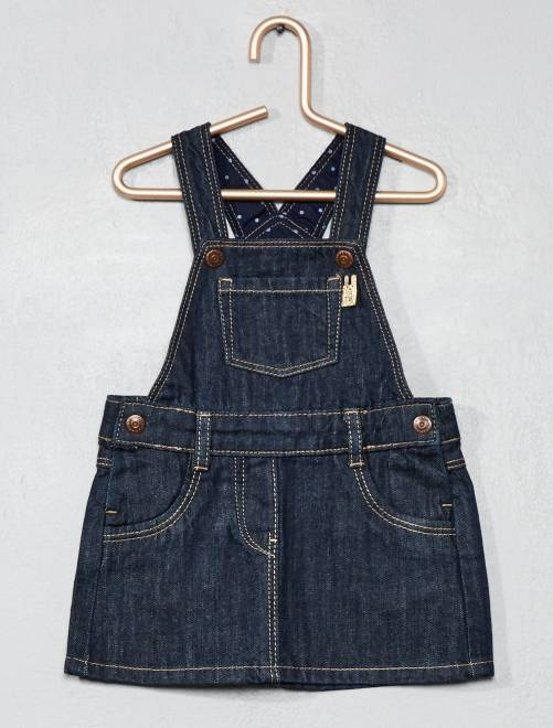 Robe en denim                                         brut