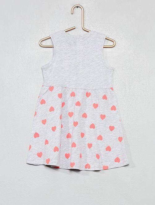 5057318f7cf Robe en jersey imprimé  coccinelles  Bébé fille - blanc coccinelle ...