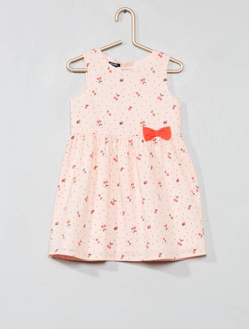 Robe en voile de coton                                                                                         rose/cerise Bébé fille