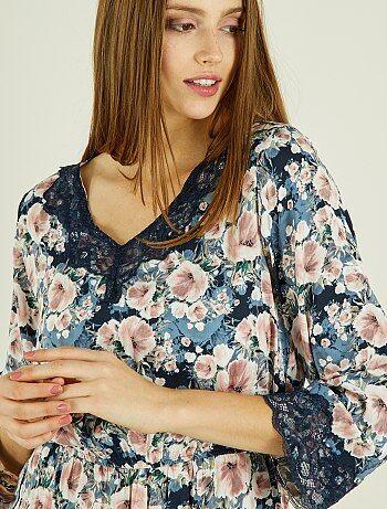 Robe fleurie 'Jacqueline de Yong' - Kiabi