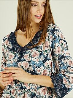 Robe imprimée - Robe fleurie 'Jacqueline de Yong' - Kiabi