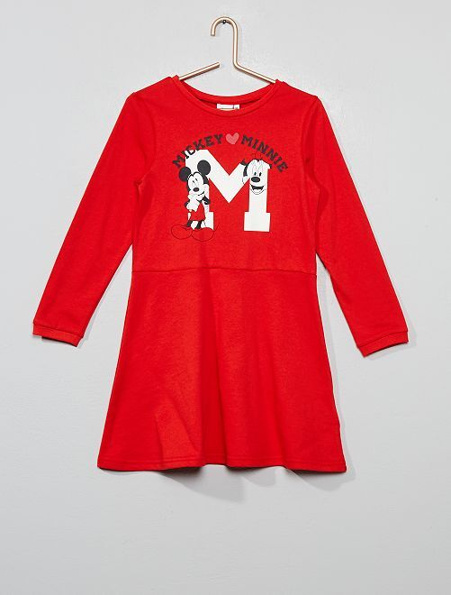 Robe imprimé 'Minnie'                                         rouge Fille