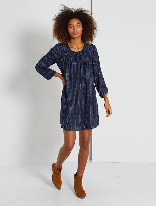Robe imprimée 'JDY'                     bleu