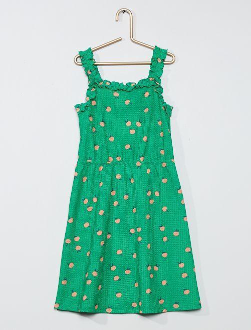 Robe légère imprimée                                                                                         vert