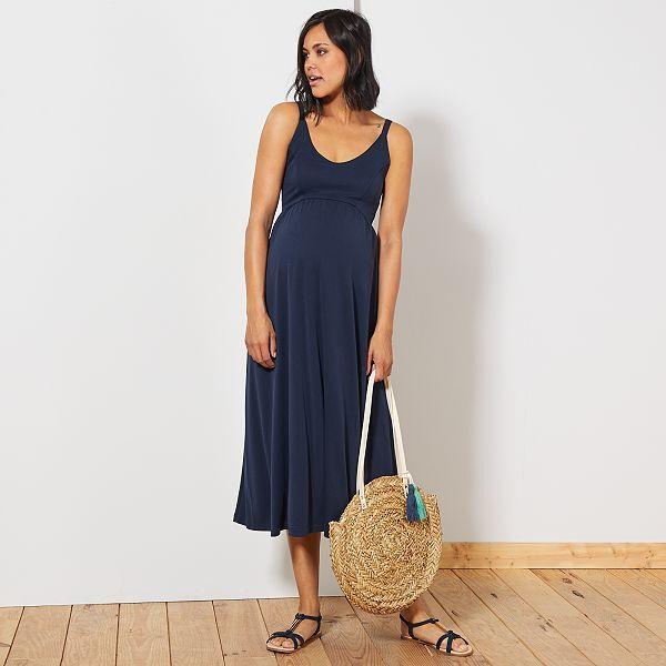 chaussures classiques Conception innovante bien connu Robe longue de maternité