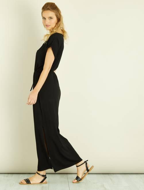Maille Kiabi 15 Jersey Femme Robe En 00€ Longue 5Aq4R3LScj