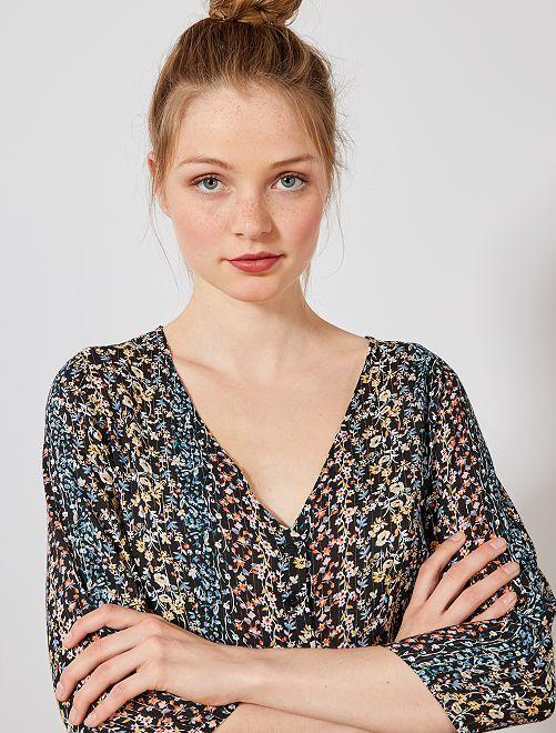 Modele de robe longue en tissu leger