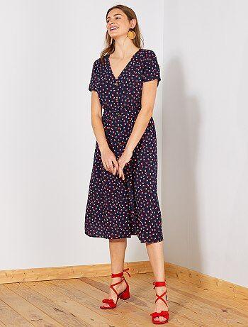 87a408b6e6d Robe imprimée   achat de robes à motifs