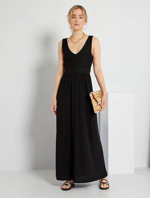 Robe longue 'JDY'                     noir