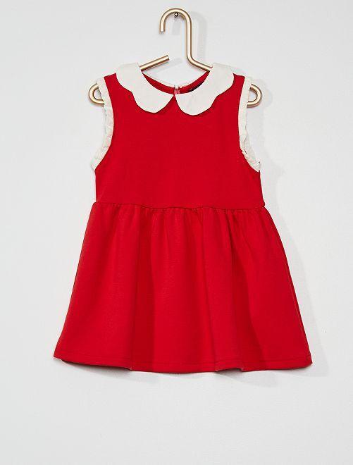 Robe maille milano                                         rouge cerise