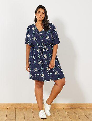 f47733febaa robe-midi-avec-ceinture-bleu-grande-taille-femme-wk829 4 fr1.jpg