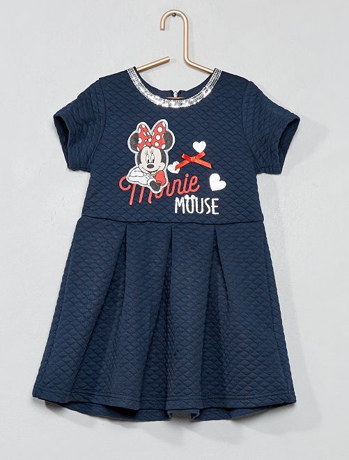 Robe molletonnée 'Minnie'                                         bleu marine Fille