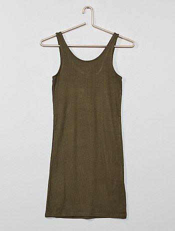 66ecc18737d Robe moulante côtelée - Kiabi