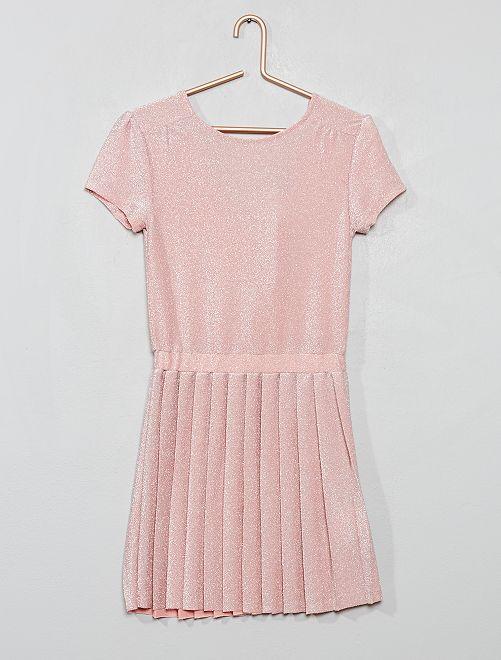 Robe pailletée                                                     rose