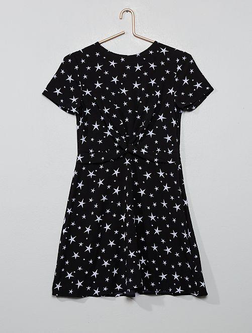 Robe patineuse 'étoiles'                             noir