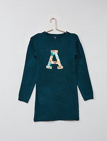 a10bee82d2a Robe pull fille - mode Fille