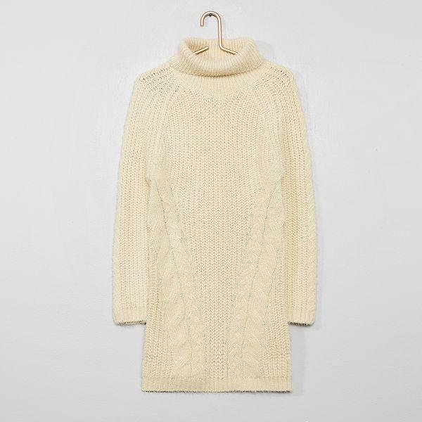 Robe Pull Col Roule Fille Kiabi 14 00