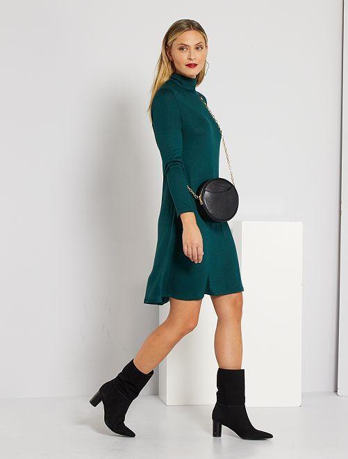 Robe pull 'Jacqueline de Yong'                                         vert