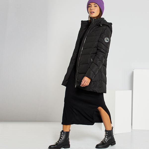 Robe Pull Longue Femme Noir Kiabi 18 00