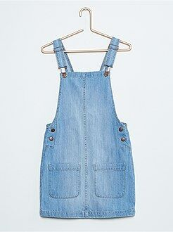 Denim - Robe salopette en jean
