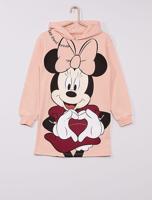 Robe sweat à capuche 'Minnie' de 'Disney'                     rose
