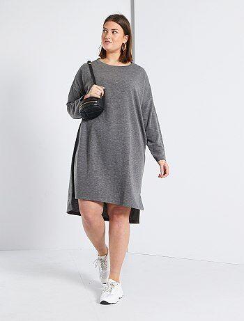 Robe Pull Vetements Femme Taille 48 50 Kiabi
