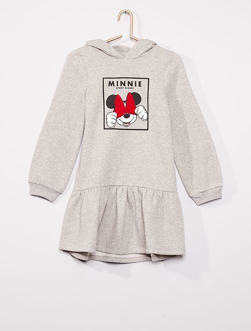 Robe sweat 'Minnie'                                         gris