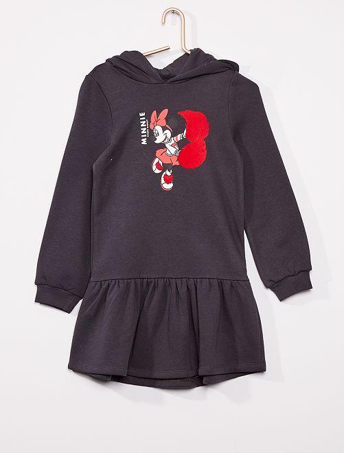 Robe sweat 'Minnie'                                         noir