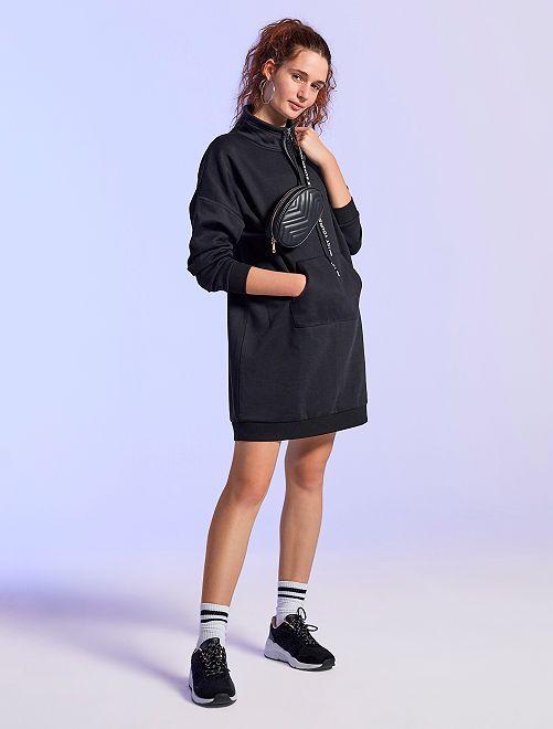 Robe sweat                             noir