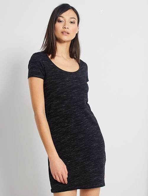 Robe T-shirt 'éco-conception'                                         gris anthracite