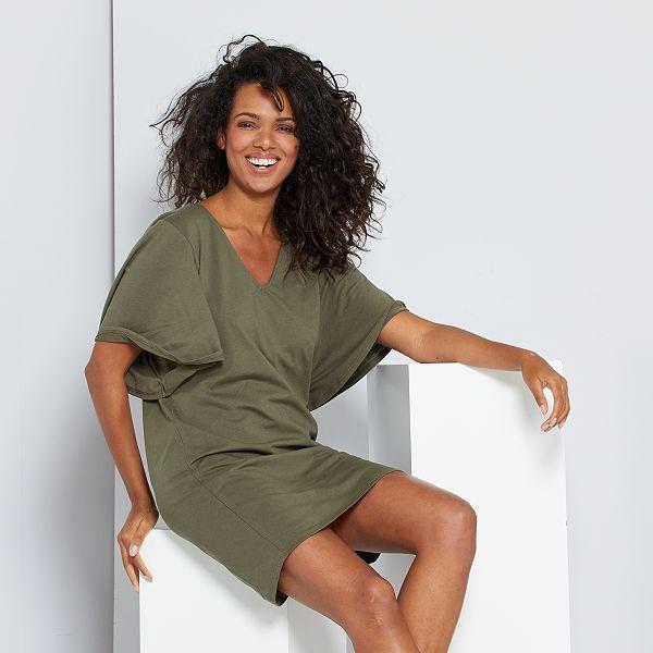 Robe T Shirt Eco Concu Femme Kiabi 4 00