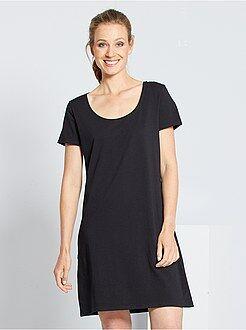 Femme du 34 au 48 - Robe tee-shirt - Kiabi