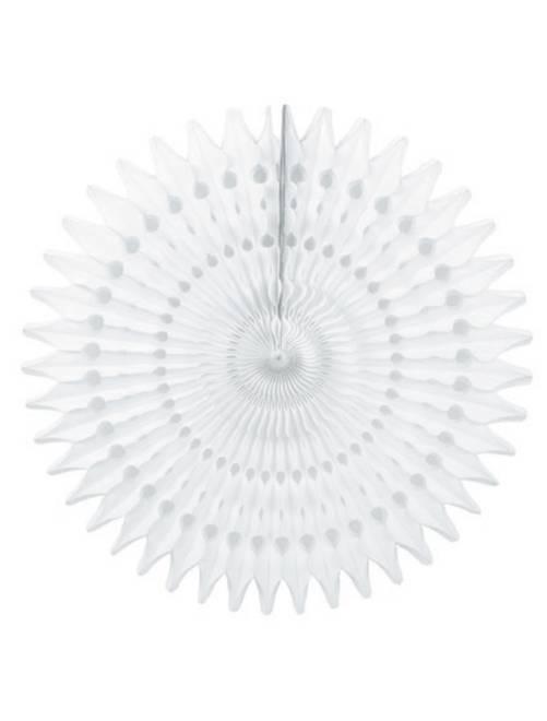 Rosace en papier 53cm                                         blanc