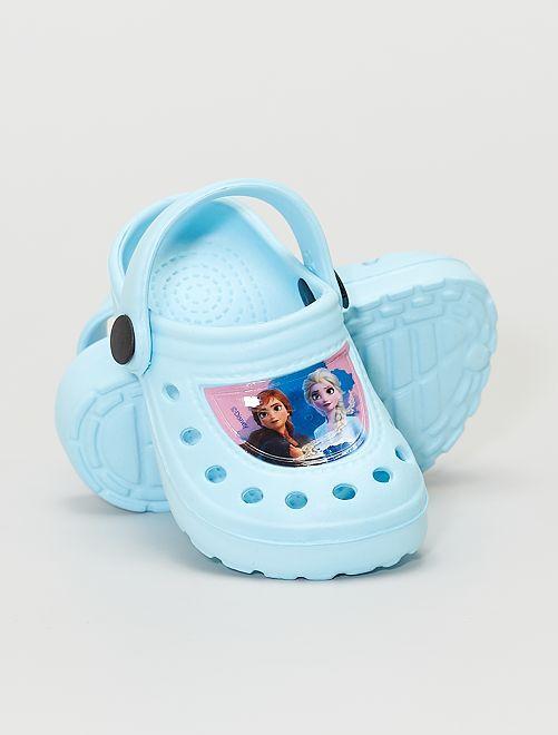 Sabots 'Reine des neiges' de 'Disney'                                         bleu