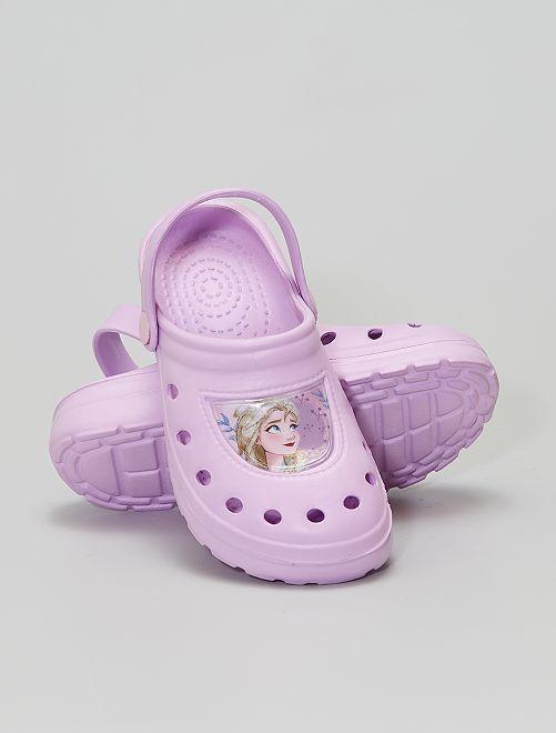 Sabots 'Reine des neiges' 'Disney'                             rose
