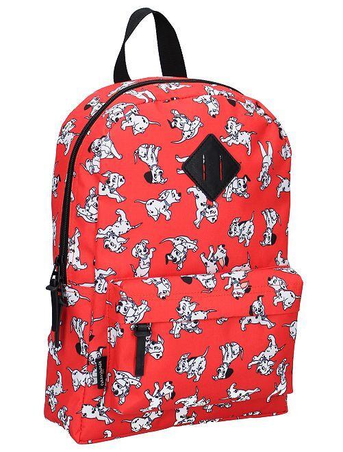Sac à dos '101 dalmatiens' 'Disney'                             rouge