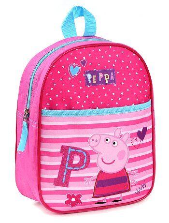 Sac à dos en polyester 'Peppa Pig' - Kiabi