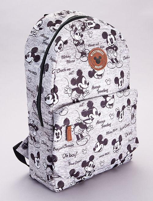 Sac à dos 'Mickey'                             noir/gris