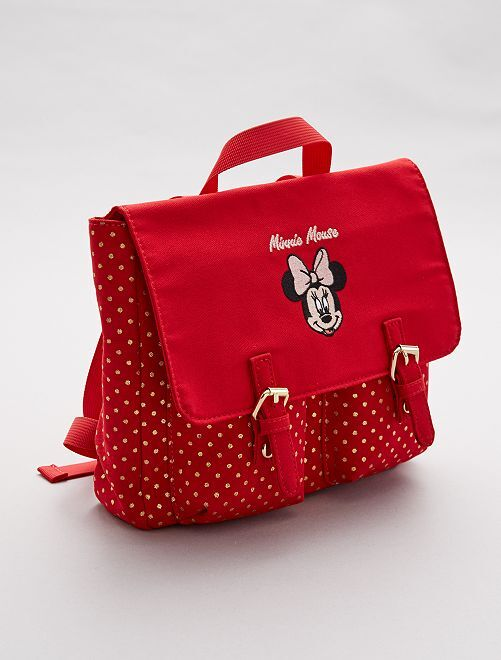 Sac à dos 'Minnie Mouse'                             rouge Fille