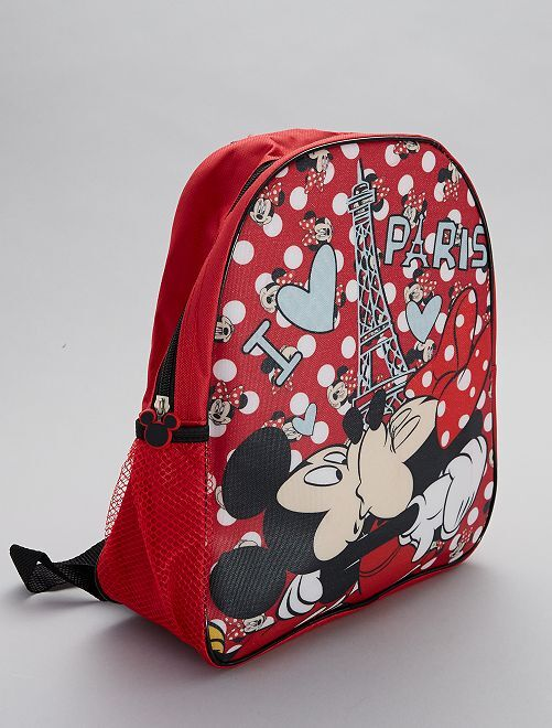 Sac à dos 'Minnie'                             rouge