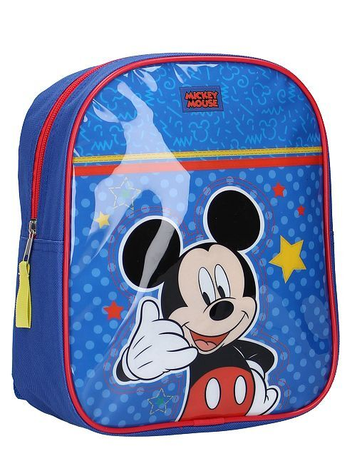 Sac à dos petite taille 'Mickey'                             bleu Garçon