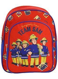 Cartable, tablier d'école - Sac à dos 'Sam le pompier' - Kiabi