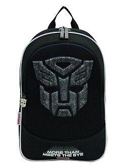 Cartable, tablier d'école - Sac à dos 'Transformers' - Kiabi