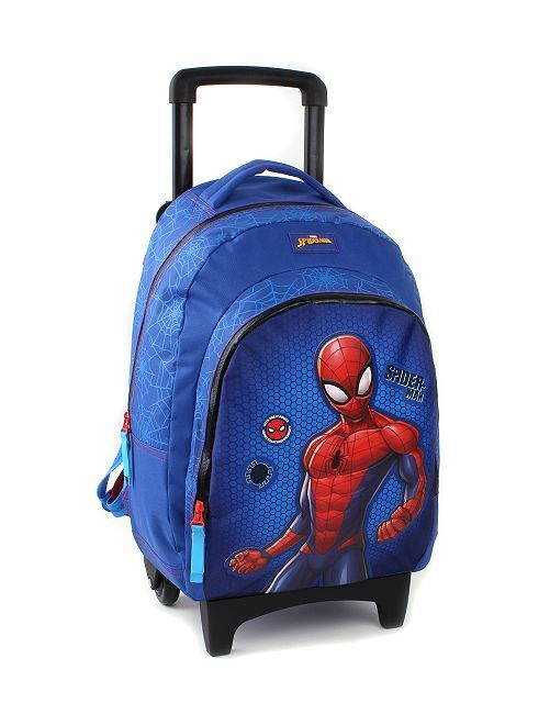 Sac à dos trolley 'Spider-Man'                             bleu/rouge Garçon
